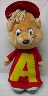 Alvin and The Chipmunks Large 18 Plush Talking Doll with Pull String