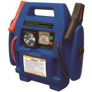 Portable LED Engine Battery Jump Starter Booster Air Compressor Power