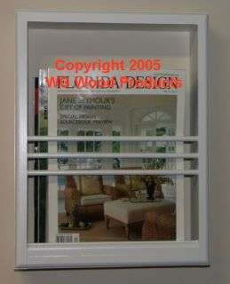 description beautiful handcrafted high quality on the wall magazine