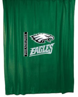 eagles gift nfl bathroom shower curtain the philadelphia eagles nfl