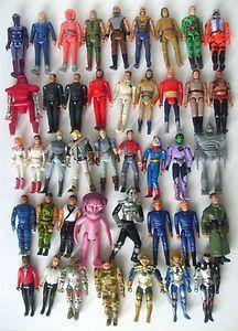 42 Vintage Figures Battlestar Galactica Black Hole Buck Rogers Tron