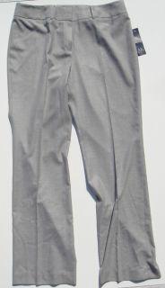 AK Anne Klein Womens Dress Pants Greystone Santa Barbara Gray 16 RV$99