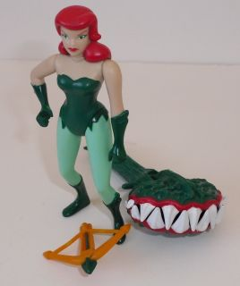 BATMAN ANIMATED SERIES rogues gallery POISON IVY figure*100% complete
