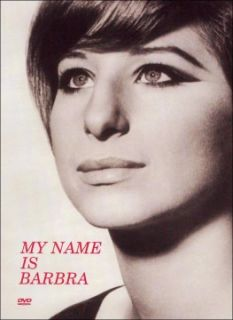 barbra streisand my name is barbra dvd filmed in glorious black and
