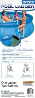 INTEX Above Ground Swimming Pool Ladder with Barrier   42 Pools