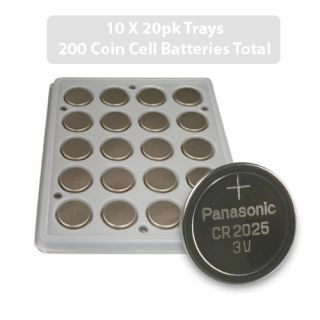 Panasonic CR2025 3V Lithium Coin Cell Batteries DL2025 Top Quality New