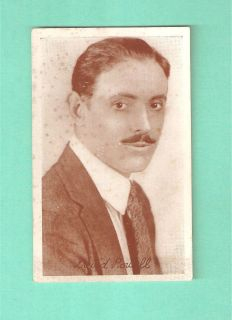 David Powell Silent Film Star postcard Scotland Glasgow Hollywood Lake