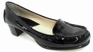 Michael Kors Bayville 8 M Black Womens Patent Loafer