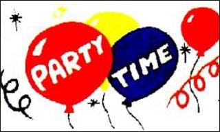 x5 Party Time Flag Outdoor Indoor Banner Huge 3x5