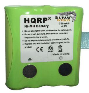 HQRP Battery Fits Uniden BP 39 BT1013 BP39 GMR Radios