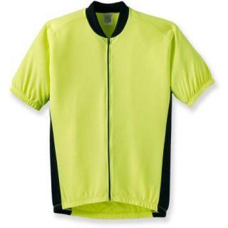 BDI Club Jersey Cycling Bike Neon Yellow Men Small New