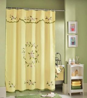 Morillo Tuscan Gold Bath Ensemble W/Matching Towels, Shower Curtain