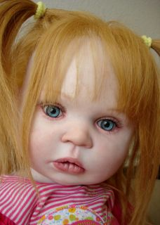 toddler Toddler Greta Reborn Vinyl Doll Kit Donna Lee