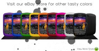 Pink Silicone Skin Case Blackberry 9300 9330 Curve 3G
