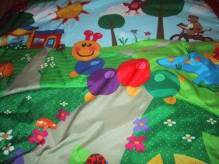 Baby Einstein Play Mat Playmat Puppy Duck Kitty Cat Ladybug 31x31