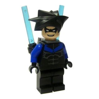 new☆ Lego Batman Nightwing Minifig Batons and Holder