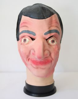 New Halloween Mr Bean Funny Face Humor Mask Adult Costume Latex Party