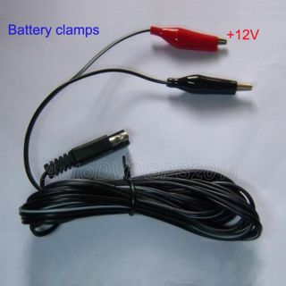 Watt 12V Car Battery Charger Solar Power Panel Cigarette Adapter