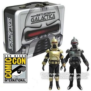 SDCC 2012 Battlestar Galactica 2x CYLON COMMANDER exclusive figures