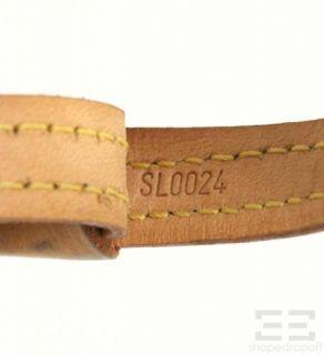 Vuitton 2pc Monogram Canvas Baxter PM Dog Collar Leash Set