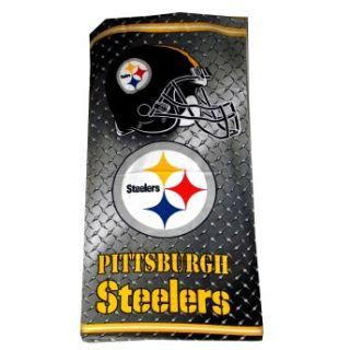 Pittsburgh Steelers Logo NFL Football Team Adult Beach Towel