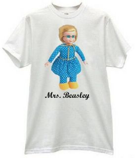 Mrs Beasley Family Affair Doll Buffy TV Family 60s Retro Tee Shirt