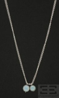 Becky Kelso Sterling Silver Chain & Calcite Pendant Necklace