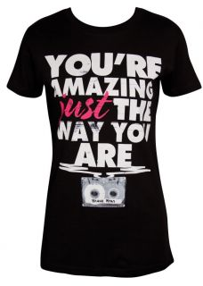 Bruno Mars Youre Amazing Just The Way You Are Ladies Slimfit T Shirt