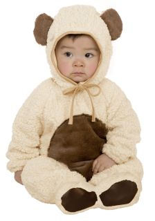 Newborn Baby Soft Oatmeal Teddy Bear Halloween Costume