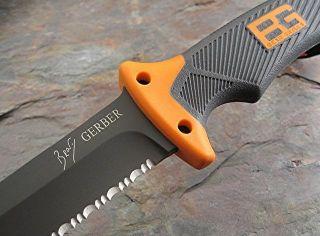 New Gerber Bear Grylls Ultimate Fixed Blade Full Tang Survival Knife