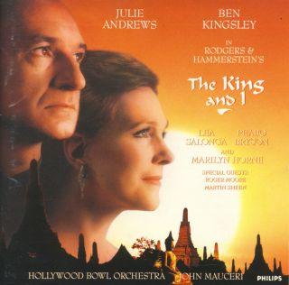 King I 1992 Cast CD Julie Andrews Ben Kingsley Richard Rodgers