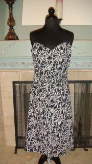 BCBG Paris Spaghetti Strap Dress Size Large