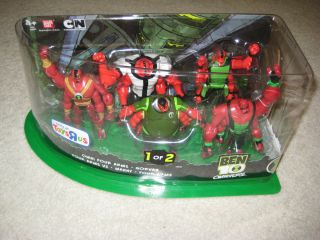 Ben 10 Omniverse 5 Pack 4 Arms Action Figures Toys R US Exclusive New