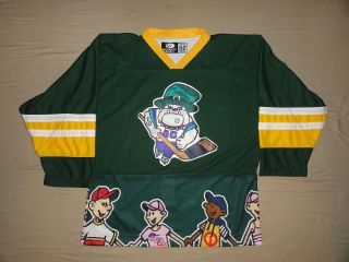 Atlantic CIty Boardwalk Bullies ECHL Hockey Jersey Size 52 NWOT