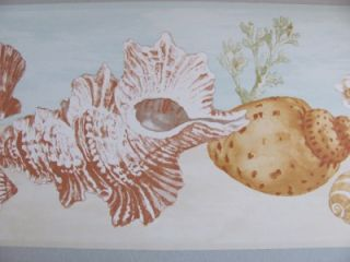 Beach Comber Sea Shells Sand Coral Ocean Theme Nautical Decor Wall