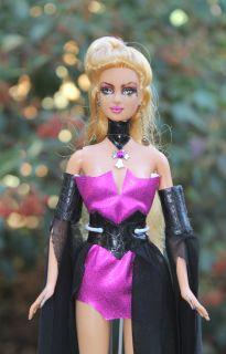 OOAK Goth Shakira Barbie Doll Repaint by Becky Martinez
