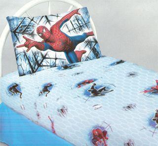 Full Bed Sheet Set Marvel Comics Spider Man Venom Bedding