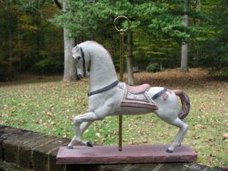 Austin Productions Sculpture 1981 Carousel Horse RARE