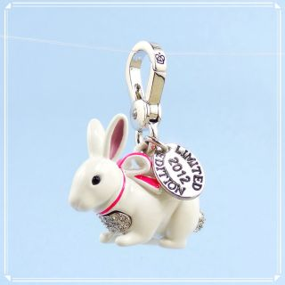 2012 Limited Edition New Juicy Couture Snow Bunny Charm $52