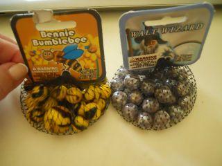 Bennie Bumblebee Mega Marble 1 Shooter Game & Walt Wizard Marble Game