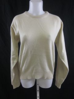 you are bidding on a belford light green cashmere crew neck sweater in