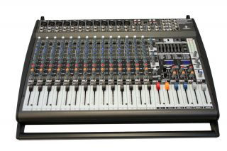 behringer europower pmp4000 1600 watt 16 ch powered mixer pmp 4000 new. Black Bedroom Furniture Sets. Home Design Ideas