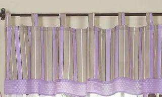 Purple Brown Polka Dot Baby Girls Crib Bedding 9P Set