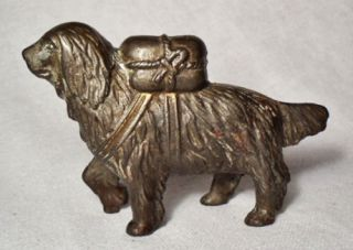 Cast Iron Bank/St. Bernard made by A. C. Williams between 1901 1935