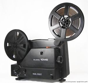 Bell Howell 10MS Variable Speed Super Regular Dual 8mm Movie Film