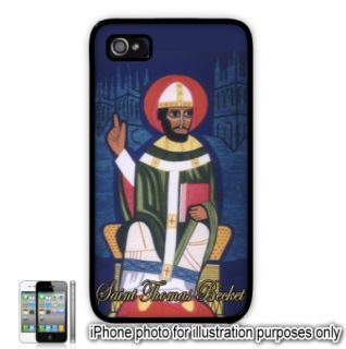 Saint St. Thomas Becket Painting Photo Apple iPhone 4 4S Case Cover