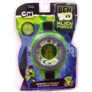 Ben 10 Alien Force Omnitrix Handheld Electronic Game New