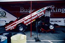 Kenny Bernstein Budweiser Bud King Top Fuel Dragster Action 1 24 Mac