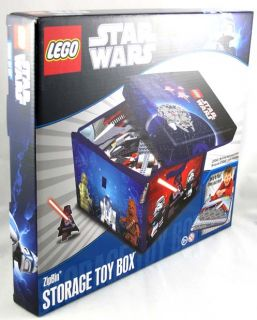 Star Wars Lego ZipBin Storage Toy Box Holds 1000 Pcs
