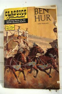 Classics Illustrated 1966 Comic Book Ben Hur No 147